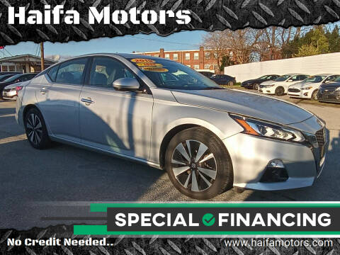 2019 Nissan Altima for sale at Haifa Motors in Philadelphia PA