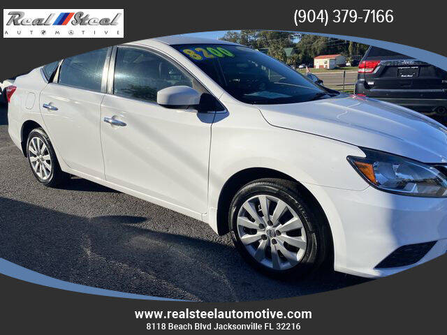 2016 Nissan Sentra for sale at Real Steel Automotive in Jacksonville FL