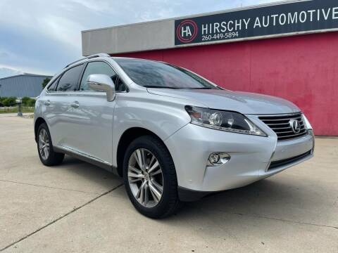 2015 Lexus RX 350 for sale at Hirschy Automotive in Fort Wayne IN