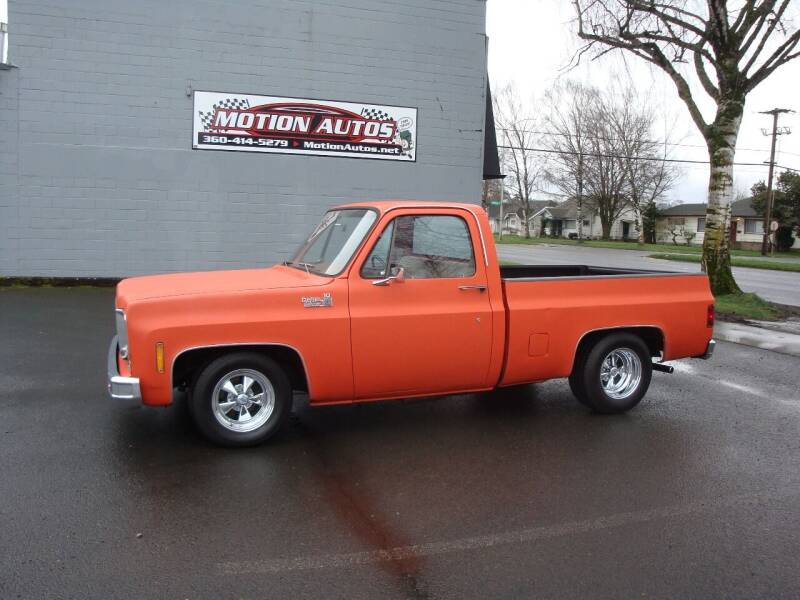 1976 Chevrolet C/K 10 Series for sale at Motion Autos in Longview WA