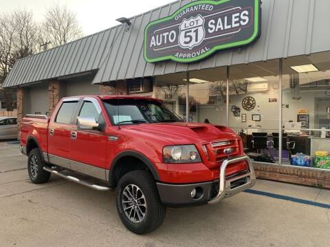 2008 Ford F-150 for sale at LOT 51 AUTO SALES in Madison WI
