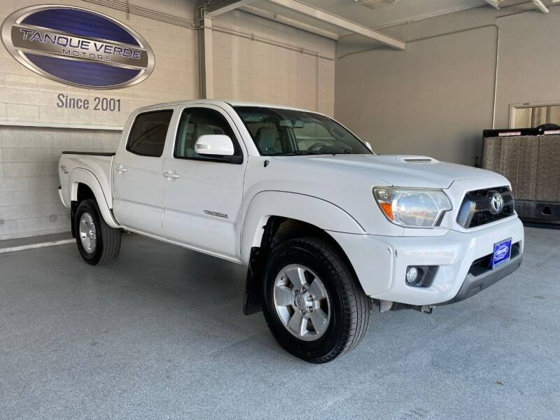 2013 Toyota Tacoma for sale at TANQUE VERDE MOTORS in Tucson AZ