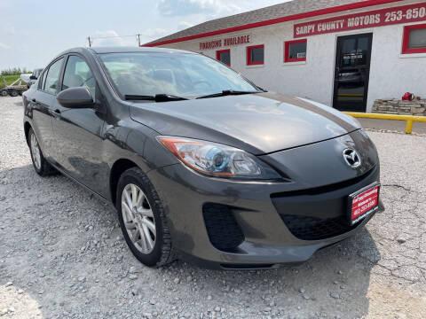 2012 Mazda MAZDA3 for sale at Sarpy County Motors in Springfield NE