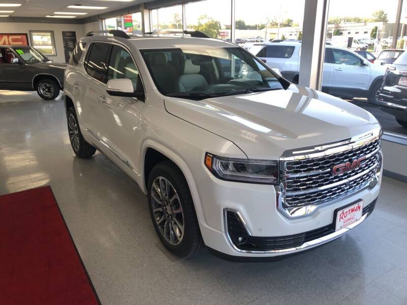 2021 GMC Acadia for sale at ROTMAN MOTOR CO in Maquoketa IA