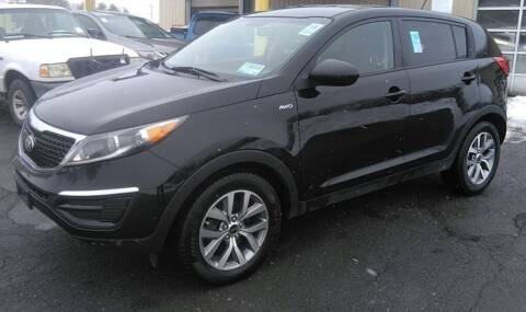 2016 Kia Sportage for sale at Father & Sons Auto Sales in Leeds NY