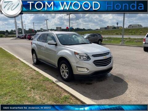 2017 Chevrolet Equinox for sale at Tom Wood Honda in Anderson IN