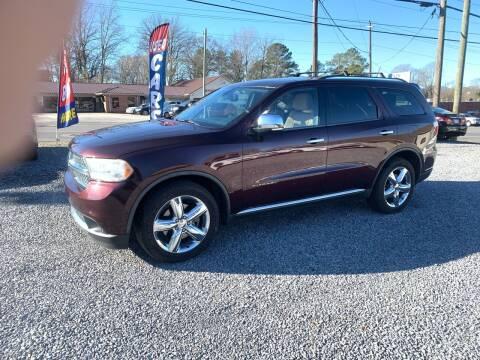 2012 Dodge Durango for sale at MOUNTAIN CITY MOTORS INC in Dalton GA