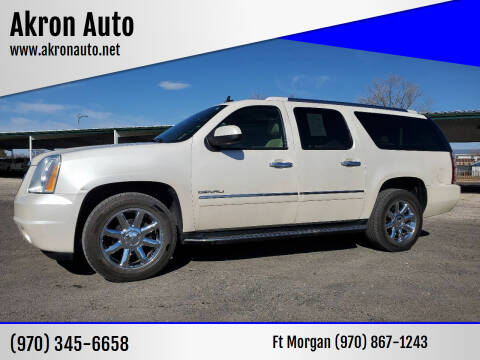2012 GMC Yukon XL for sale at Akron Auto in Akron CO