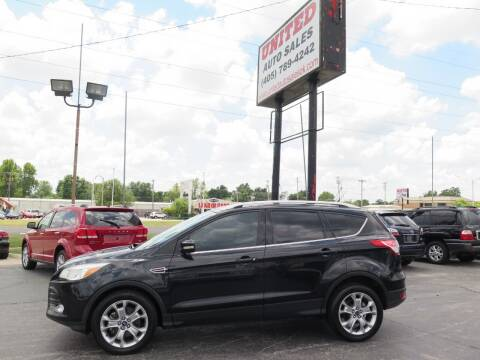 2014 Ford Escape for sale at United Auto Sales in Oklahoma City OK