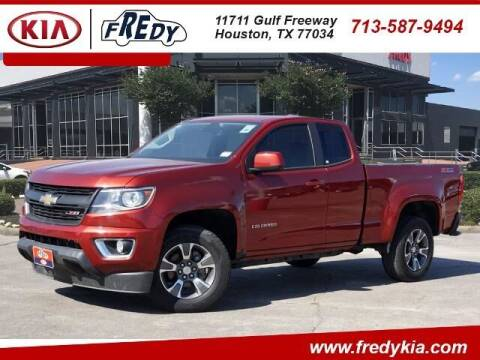 2016 Chevrolet Colorado for sale at FREDY KIA USED CARS in Houston TX