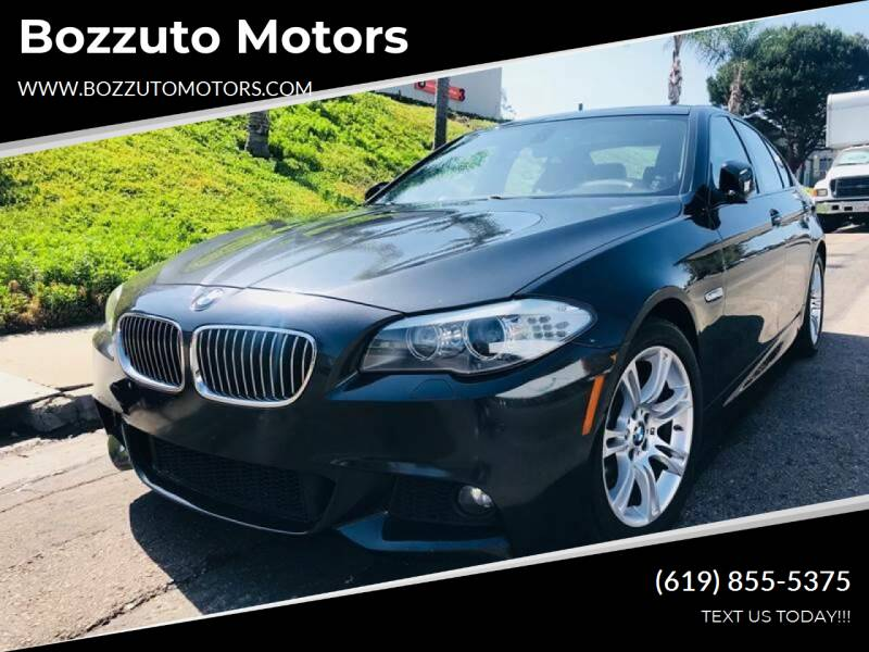 2012 BMW 5 Series for sale at Bozzuto Motors in San Diego CA