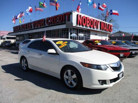 2010 Acura TSX for sale at Giant Auto Mart 2 in Houston TX