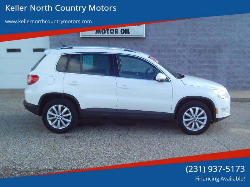 2011 Volkswagen Tiguan for sale at Keller North Country Motors in Howard City MI
