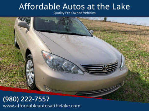 2005 Toyota Camry for sale at Affordable Autos at the Lake in Denver NC