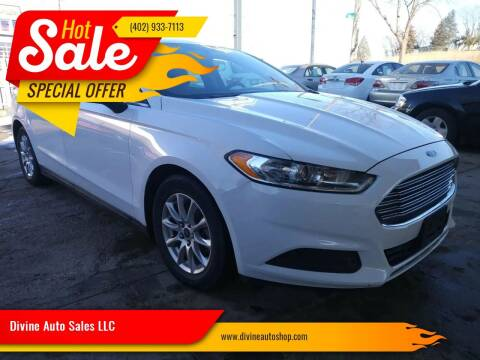 2015 Ford Fusion for sale at Divine Auto Sales LLC in Omaha NE