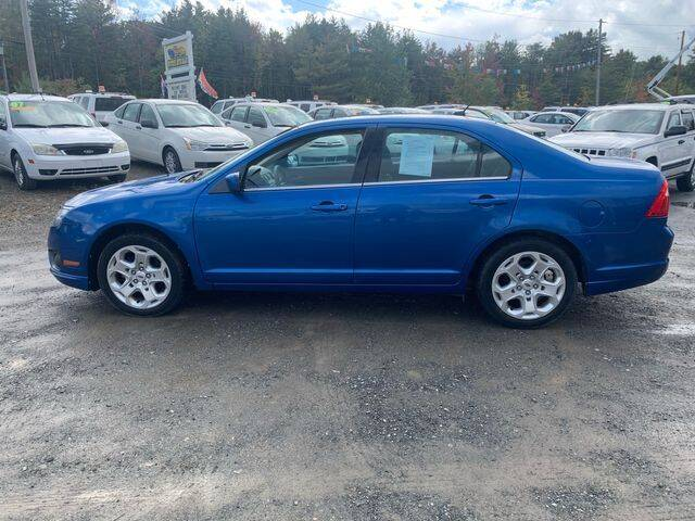 2011 Ford Fusion for sale at Upstate Auto Sales Inc. in Pittstown NY