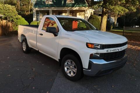 2020 Chevrolet Silverado 1500 for sale at FENTON AUTO SALES in Westfield MA