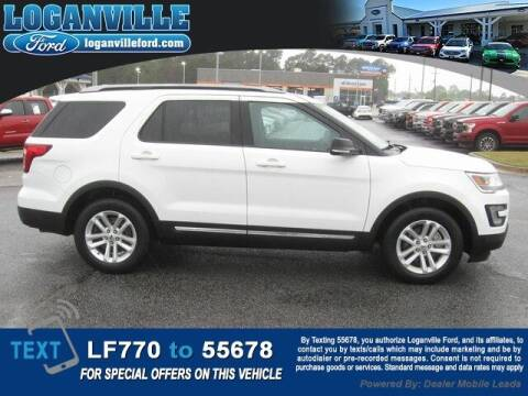 2017 Ford Explorer for sale at Loganville Quick Lane and Tire Center in Loganville GA