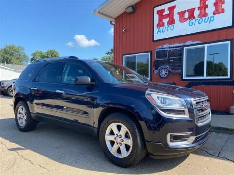 2016 GMC Acadia for sale at HUFF AUTO GROUP in Jackson MI