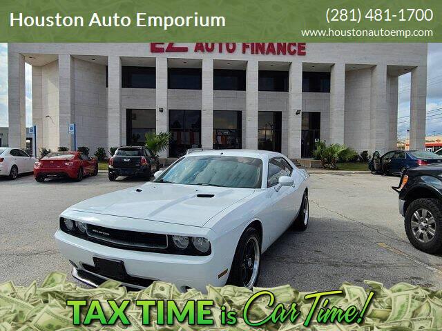 2012 Dodge Challenger for sale at Houston Auto Emporium in Houston TX