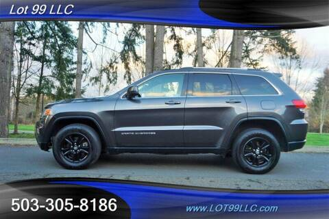 2015 Jeep Grand Cherokee for sale at LOT 99 LLC in Milwaukie OR