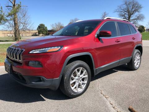 2014 Jeep Cherokee for sale at COUNTRYSIDE AUTO SALES 2 in Russellville KY