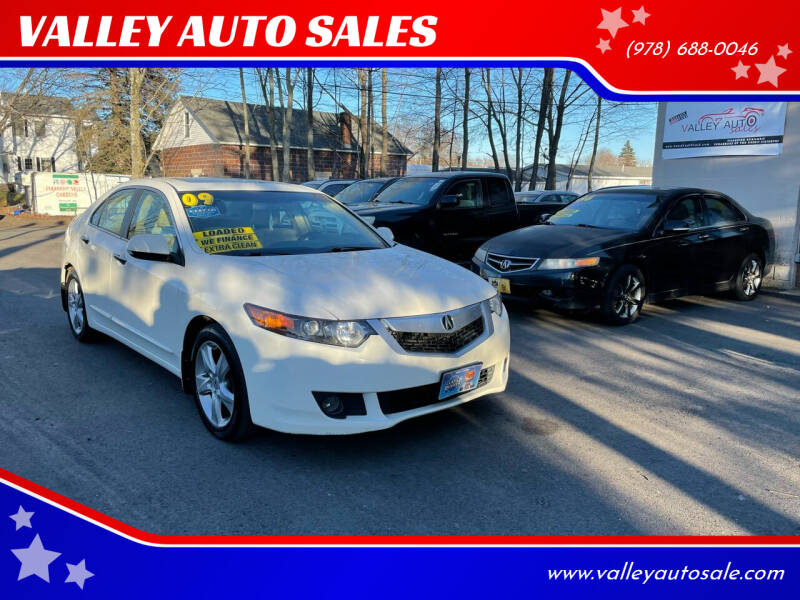 2009 Acura TSX for sale at VALLEY AUTO SALES in Methuen MA