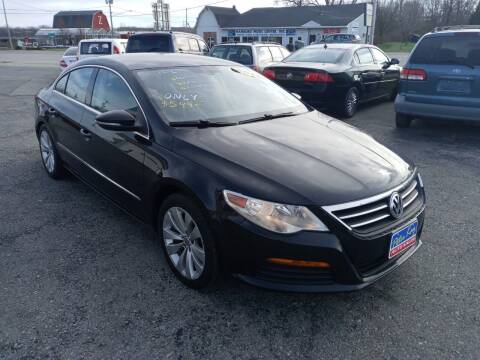 2011 Volkswagen CC for sale at Peter Kay Auto Sales in Alden NY