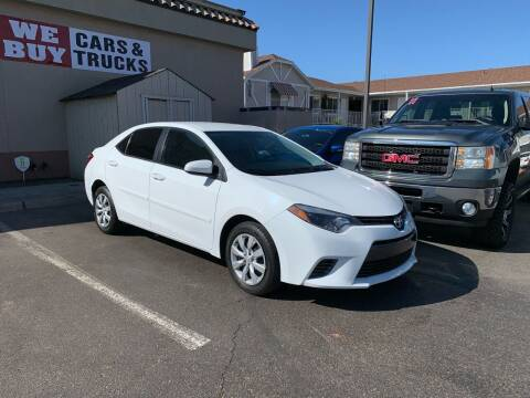 2016 Toyota Corolla for sale at Boulevard Motors in St George UT