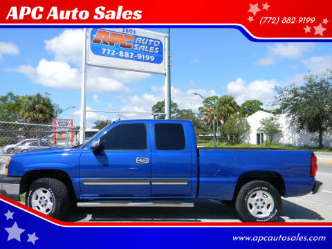 2004 Chevrolet Silverado 1500 for sale at APC Auto Sales in Fort Pierce FL