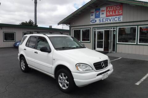 1999 Mercedes-Benz M-Class for sale at 777 Auto Sales and Service in Tacoma WA