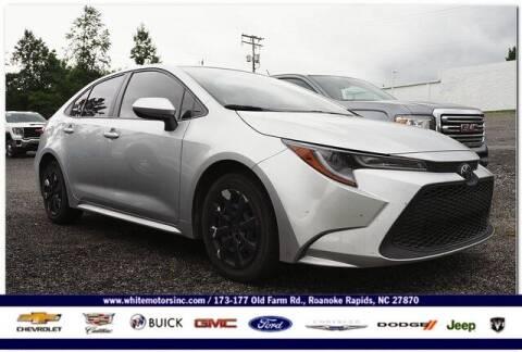 2020 Toyota Corolla for sale at WHITE MOTORS INC in Roanoke Rapids NC