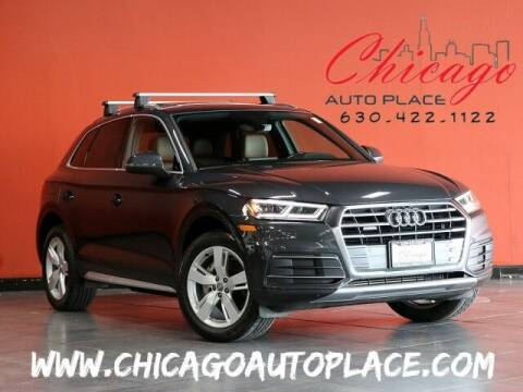 2018 Audi Q5 for sale at Chicago Auto Place in Bensenville IL