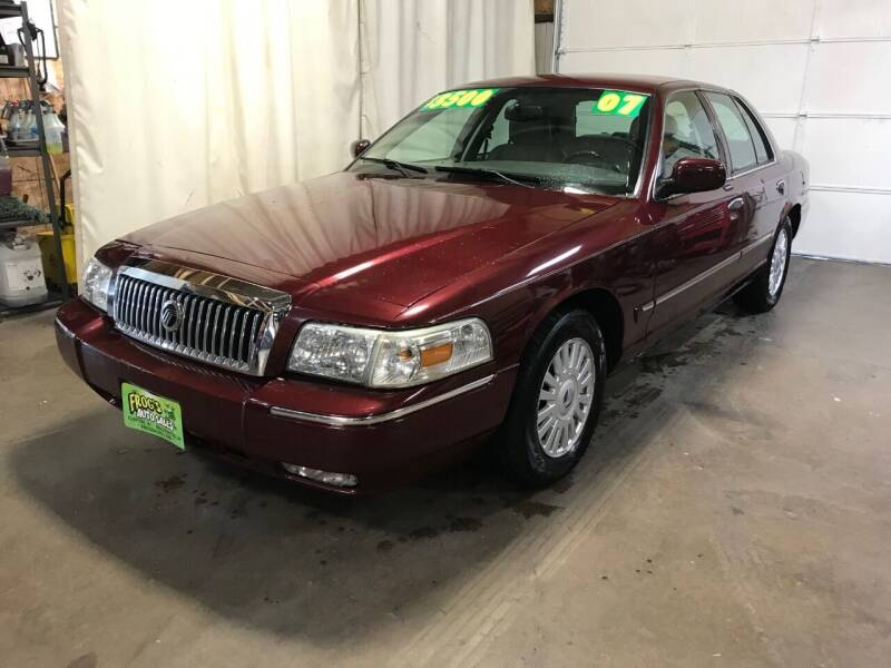 2007 Mercury Grand Marquis for sale at Frogs Auto Sales in Clinton IA