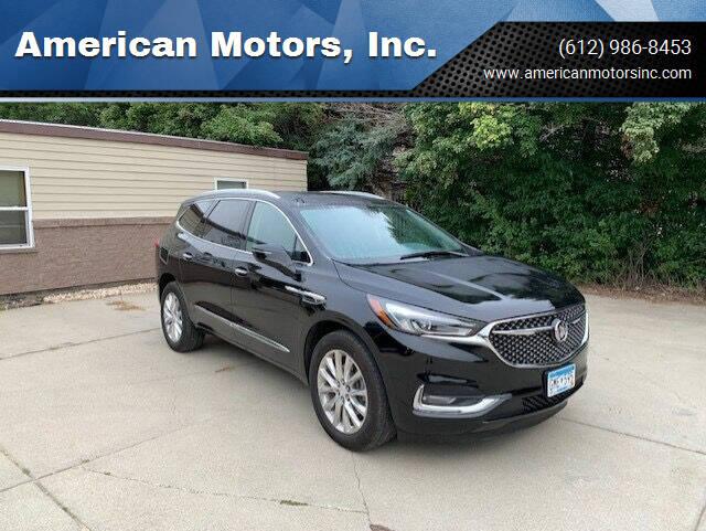 2018 Buick Enclave for sale at American Motors, Inc. in Farmington MN