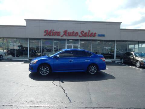 2015 Nissan Sentra for sale at Mira Auto Sales in Dayton OH