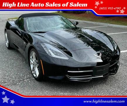 2019 Chevrolet Corvette for sale at High Line Auto Sales of Salem in Salem NH