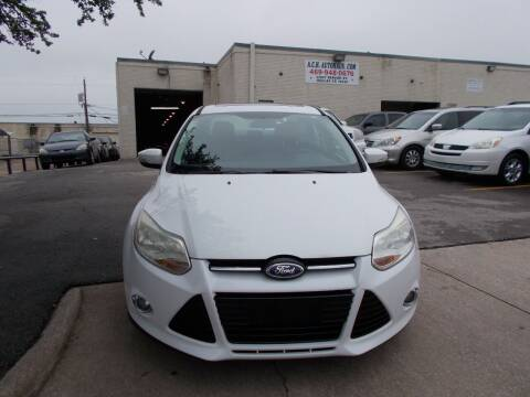 2012 Ford Focus for sale at ACH AutoHaus in Dallas TX