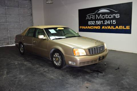 2005 Cadillac DeVille for sale at ARI Motors in Houston TX