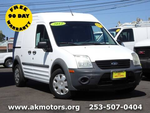 2012 Ford Transit Connect for sale at AK Motors in Tacoma WA