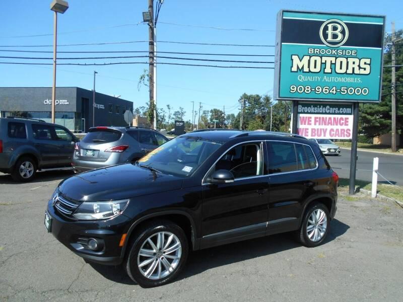 2012 Volkswagen Tiguan for sale at Brookside Motors in Union NJ