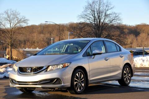 2015 Honda Civic for sale at T CAR CARE INC in Philadelphia PA