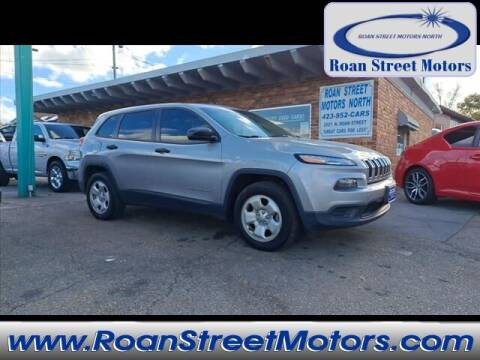 2014 Jeep Cherokee for sale at PARKWAY AUTO SALES OF BRISTOL - Roan Street Motors in Johnson City TN