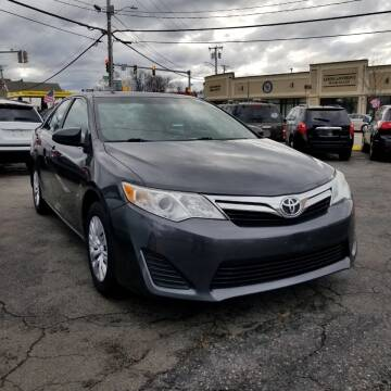 2012 Toyota Camry for sale at Boston Auto World in Quincy MA