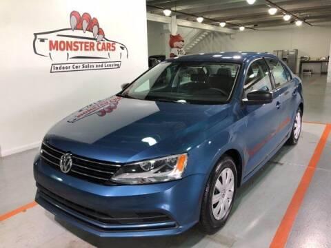 2016 Volkswagen Jetta for sale at Monster Cars in Pompano Beach FL