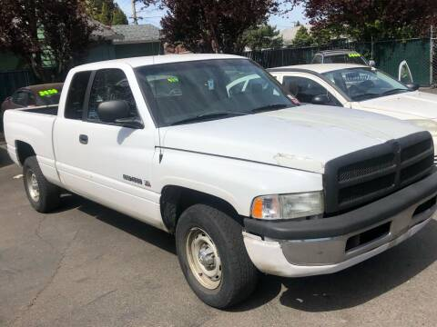 2000 Dodge Ram Pickup 1500 for sale at Blue Line Auto Group in Portland OR