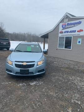2011 Chevrolet Cruze for sale at ROUTE 11 MOTOR SPORTS in Central Square NY