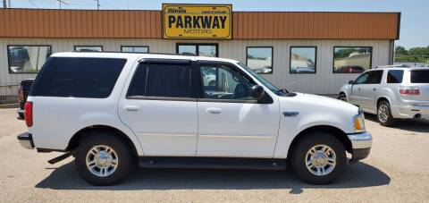 2002 Ford Expedition for sale at Parkway Motors in Springfield IL
