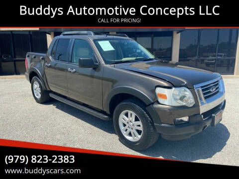 2008 Ford Explorer Sport Trac for sale at Buddys Automotive Concepts LLC in Bryan TX