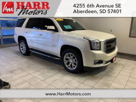 2015 GMC Yukon for sale at Harr Motors Bargain Center in Aberdeen SD